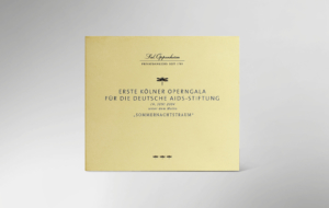 Vorderseite der CD zur 1. festlichen Operngala