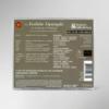 Rückseite der CD zur 13. festlichen Operngala mit allen Titeln und Interpreten