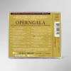 Rückseite der CD zur 18. festlichen Operngala mit allen Titeln und Interpreten