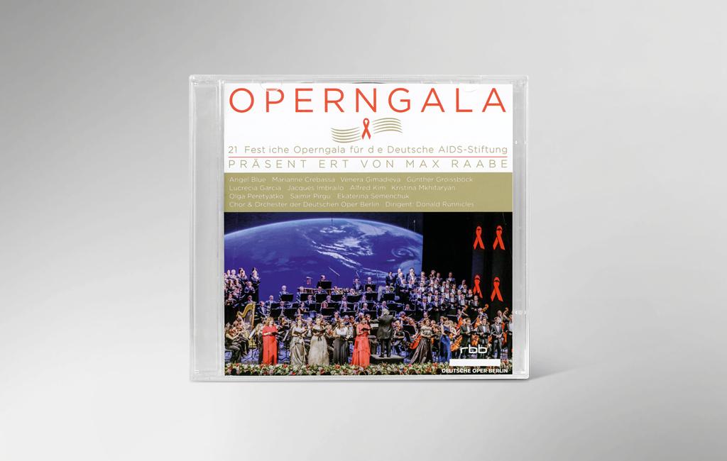 Vorderseite der CD zur 21. festlichen Operngala