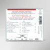 Rückseite der CD zur 25. festlichen Operngala mit allen Titeln und Interpreten