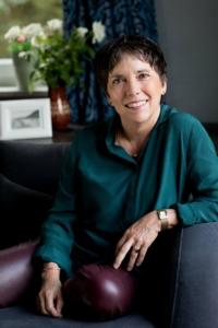 Dr. Margot Kaessmann, die Schirmfrau des Wohnhauses Leine38 für Menschen mit HIV und Aids in Hannover.